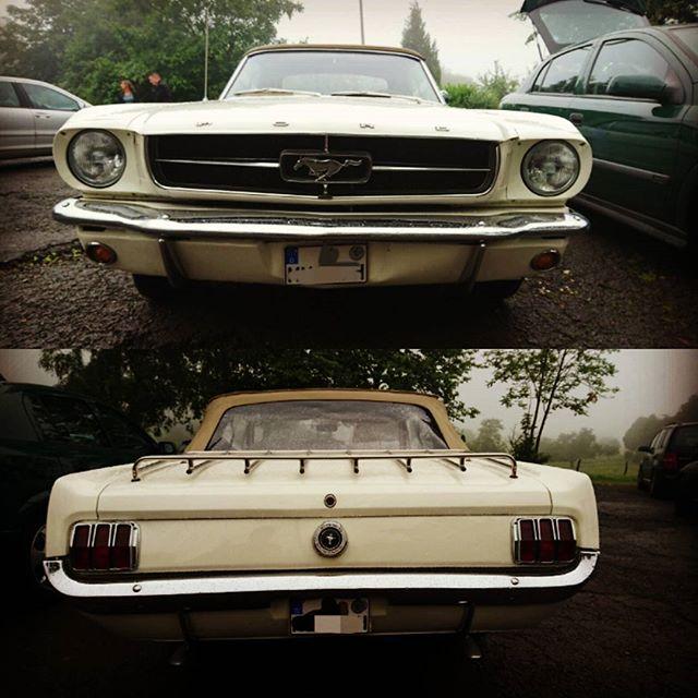 #Ford #mustang als Hochzeitsauto. Sehr coole Idee. Der Sound ist einmalig!