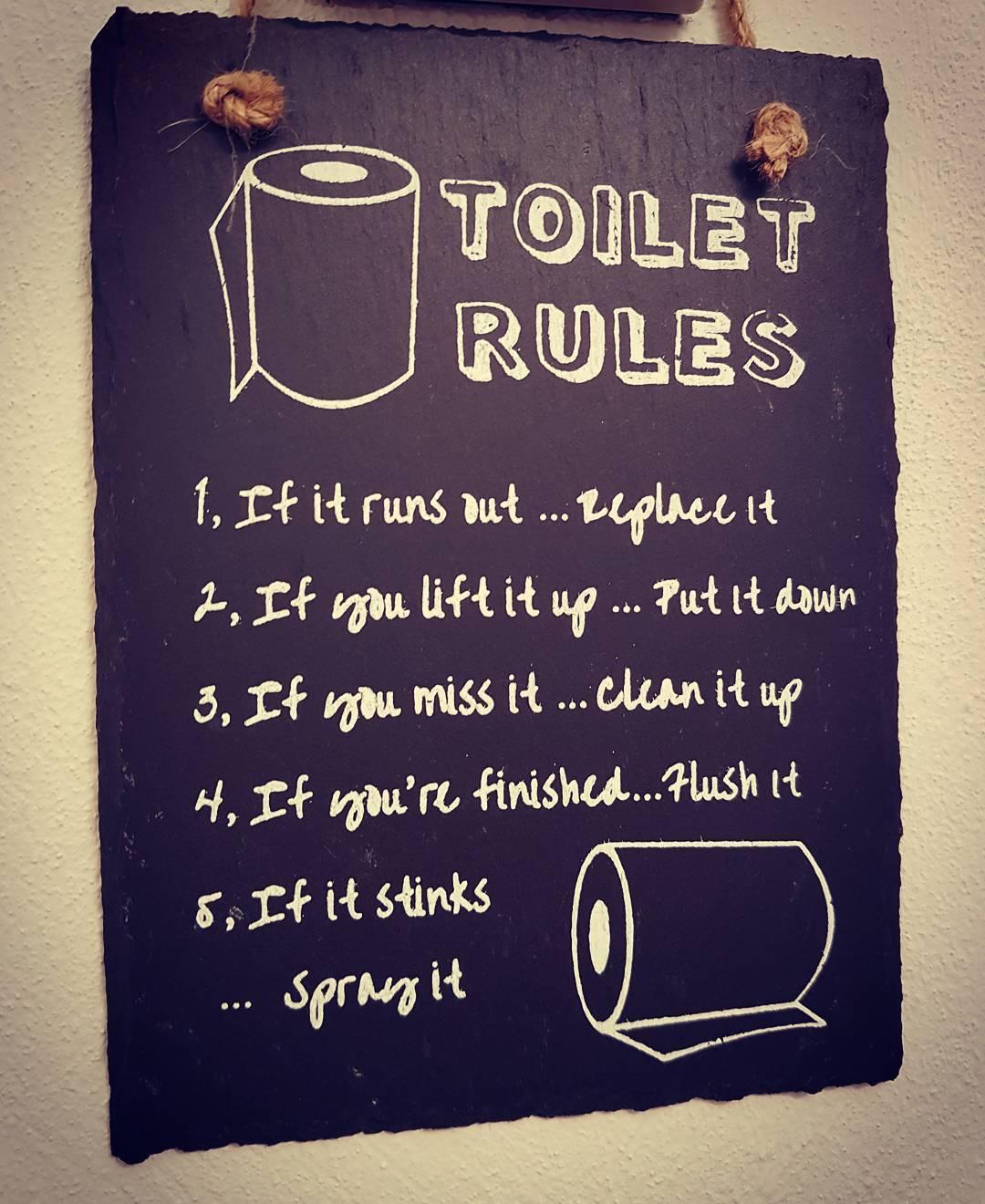 Toiletten Regel