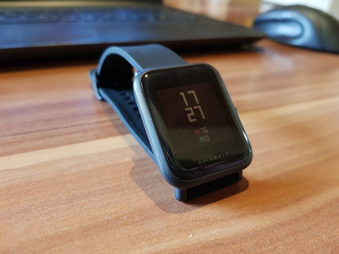 Xiaomi Huami Amazfit Bip Auf Deutsch Englisch Gnstige Und Gute Smartwatch Fitnessband